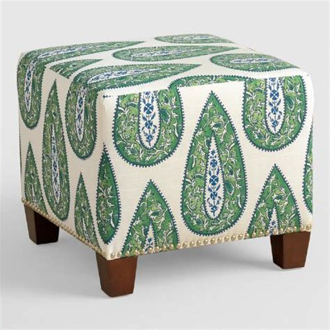 Bindi Mckenzie Upholstered Ottoman World Market Cost Plus Ottoman