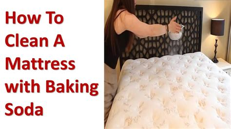 how to clean a bed how to clean a mattress with baking soda youtube