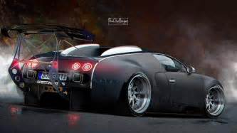 Customize Your Own Bugatti Veyron Veyron As You Never Imagined It Is Stanced And Has An