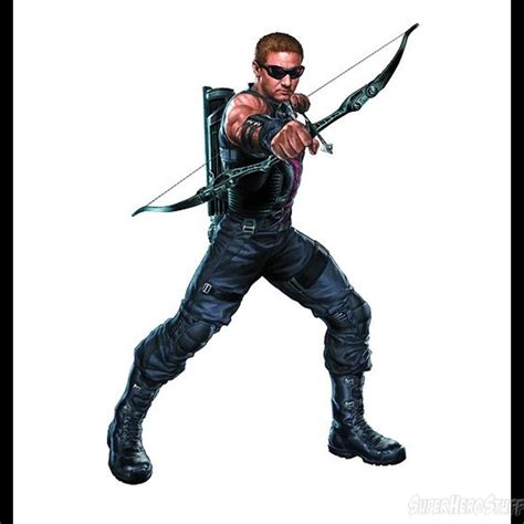 the avengers movie hawkeye cardboard standup