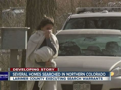 Larimer County Warrant Search Larimer County Sheriff S Office Executes Search