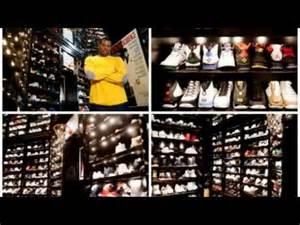 joe johnson sneaker closet