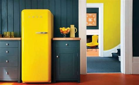 frigorifero d arredo awesome cucine con frigo smeg contemporary ideas