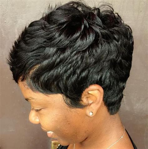 Black Hairstyle Cut In Back by 25 Best Ideas About Black Pixie Haircut On