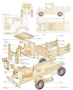 wooden toy truck pattern plans woodworking projects plans