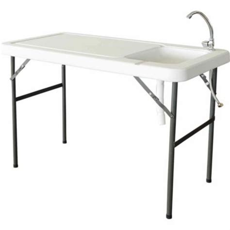 Cing Faucet by Folding Table With Sink Palm Springs Outdoor Folding