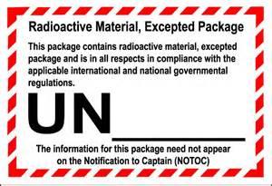 handling labels limited quantity marks marine pollutant