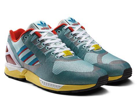 adidas zx new year adidas zx flux 8000 weave og aqua freshness mag