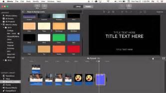 change title background  imovie  tutorial