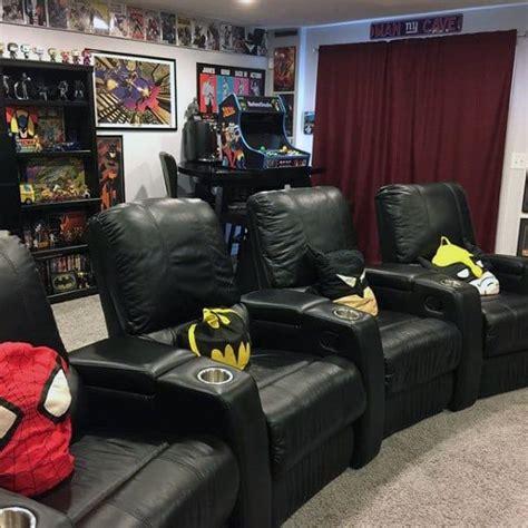 gaming man cave design ideas  men manly home retreats