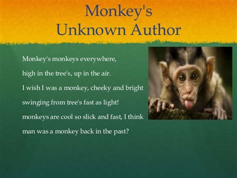 new year monkey poem animal poems by teya ballenger