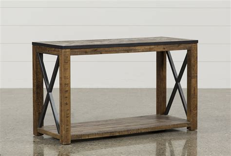 living spaces sofa table tillman sofa table living spaces