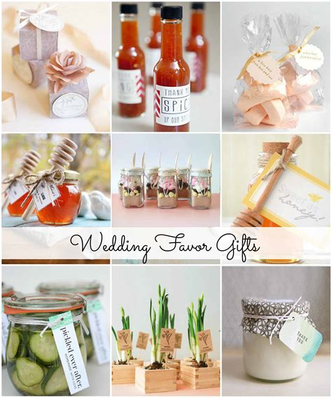 Wedding Giveaways 2015 - popular inexpensive wedding favors for your guests