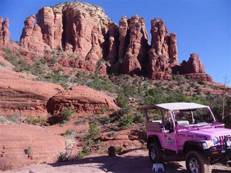 Pink Jeep Broken Arrow Tour Rocks Sedona Az Picture Of Pink Jeep Tours Sedona