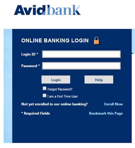 www dab bank login avidbank banking login banklogindir
