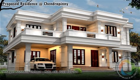 kerala ladies bathroom 2990 sq ft double floor contemporary home design home