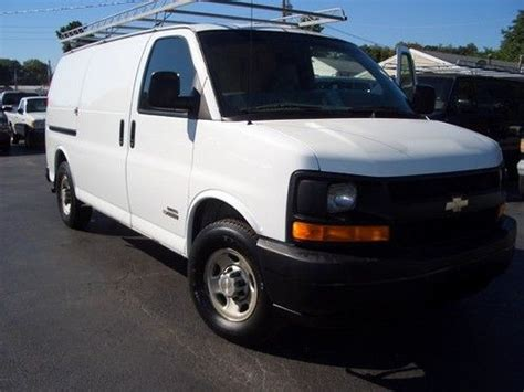 sell used 2006 chevy express 3500 cargo 6 6l duramax diesel very clean one owner fleet in saint