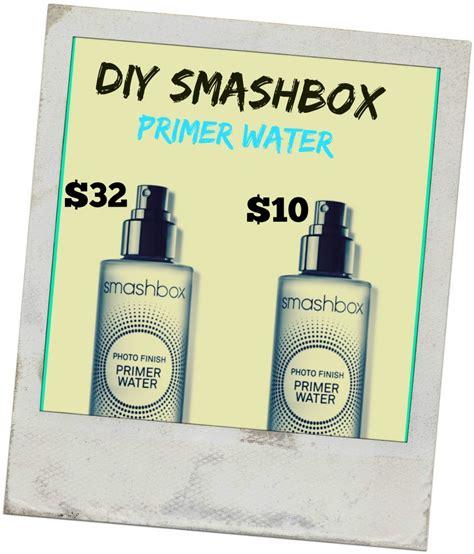 diy primer how to make your own smashbox primer water