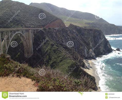 Pch Stock - pch bridge and shoreline stock photo image 42633026