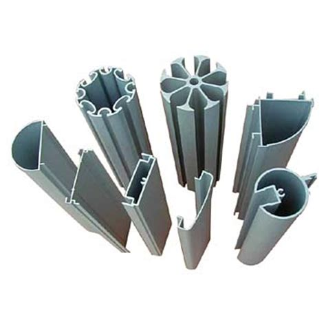 standard extruded plastic sections a nice set of aluminium extrusions with different profiles