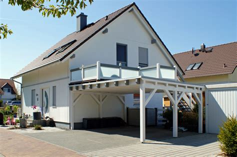 Garage Mit Terrasse Kosten 3662 by Bilder Flachdachcarports Foto Galerie Flachd 228 Cher
