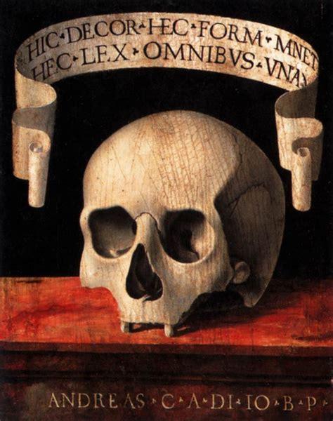 specimen memento mori remedia