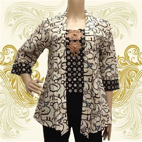 Gamis Ungu Blazer Lace best 25 model baju batik ideas on dress batik