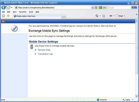 microsoft exchange mobile exchange 2003 mobile messaging part 3 installing