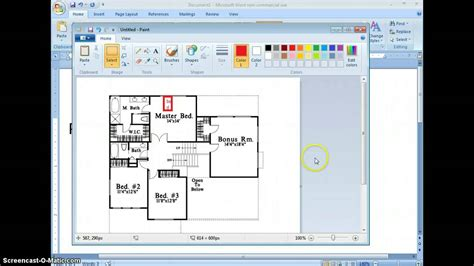 how to create a floor plan in word how to make a floor plan for begginers