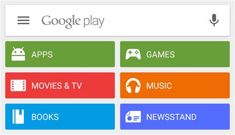 Play Store Search Play Store 5 5 With Material Animations