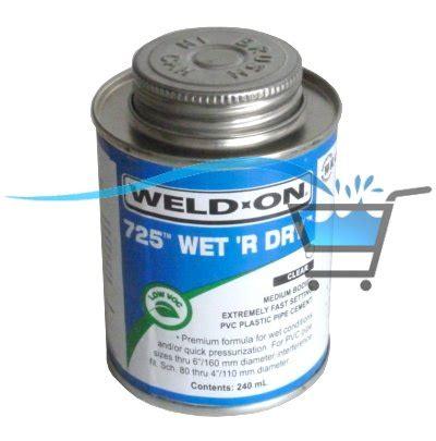 Plumbing Glue by Weld On Abs Pvc Pipe Glue 250ml Spa Plumbing Repairs