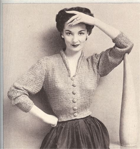 free vintage knitting patterns the winter vintage knitting patterns yishifashion