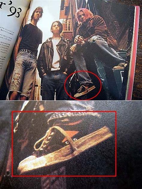 Sepatu Bata Kurt Cobain kurt cobain from nirvana wearing wilson by bata shoes