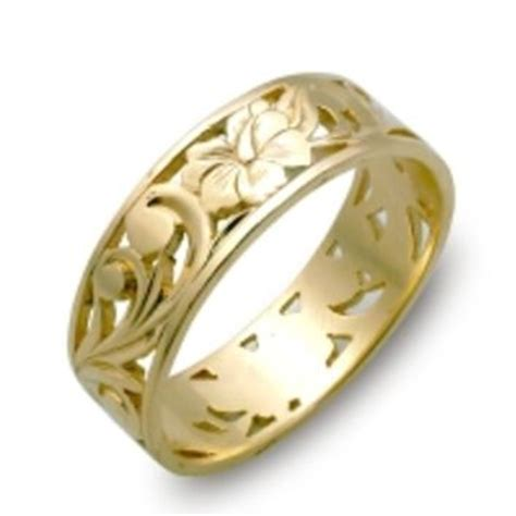 Wedding Rings Hawaii by Hawaiian Rings Hawaiian Wedding Rings From
