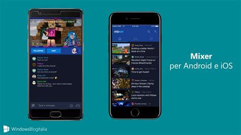 per android nuova app di mixer interactive per
