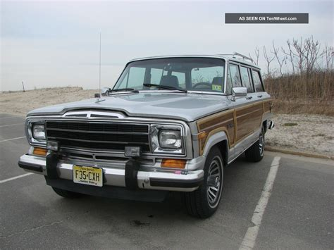 1989 Jeep Grand 1989 Jeep Grand Wagoneer Base Sport Utility 4 Door 5 9l