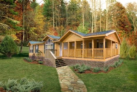 cabin style mobile homes