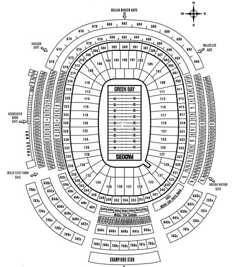 field seating chart lambeau field seat map brokeasshome