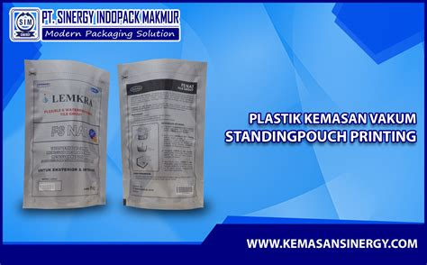 Plastik Vakum kemasan plastik vakum vacuum bag standing pouch