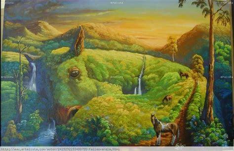 imagenes surrealistas de paisajes caballos en lomo armando fallas varela artelista com