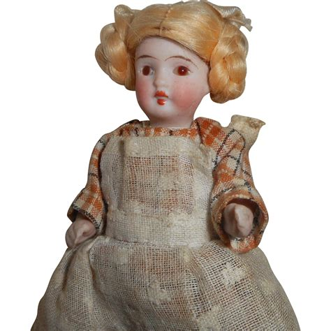 german bisque doll all bisque german dolls house doll c1915 from
