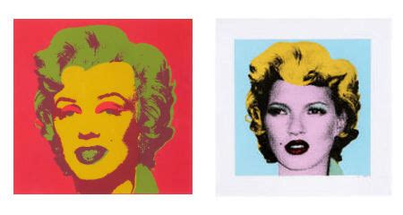 Warhol Vs Banksy Exhibition Features Kate Moss Image by Warhol Vs Banksy Exhibition Retro To Go