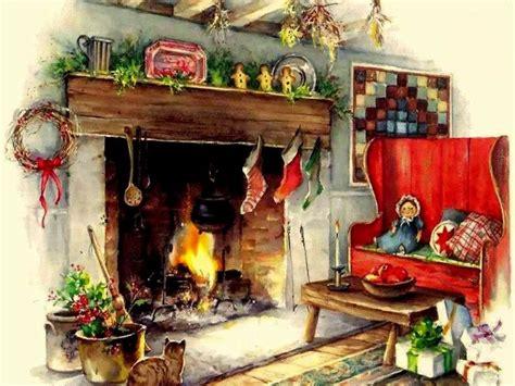 country cozy  christmas carol pinterest fireplaces merry christmas  christmas