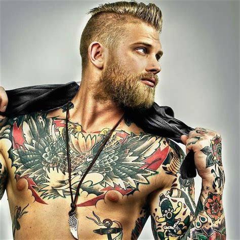 tattoo men top 144 chest tattoos for men