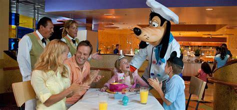 Goofy S Kitchen Dinner by Goofy S Kitchen Dining Restaurants Disneyland Resort