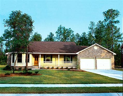 country ranch traditional house plan 34043