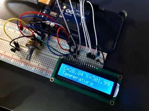 tutorial arduino uno youtube tutorial arduino uno sensor de temperatura lcd