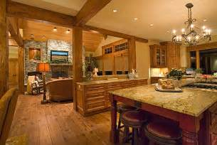Kitchen Great Room Floor Plans by Steve Bennett Builders Interior Photo Professional