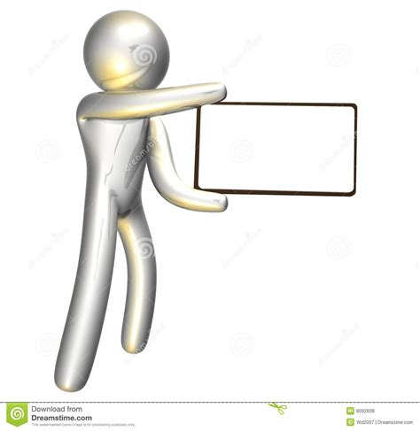 free message board aimoo pletinum icon figure with blank message board stock