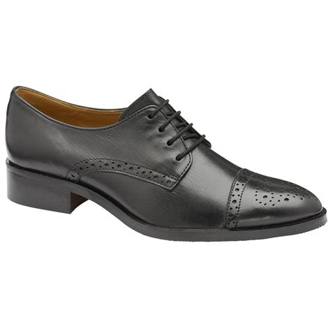 buy ravel union brogues in black